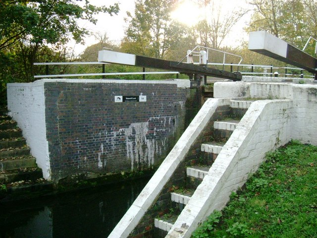 Hanwell Lock - No.94, Grand Union Canal
