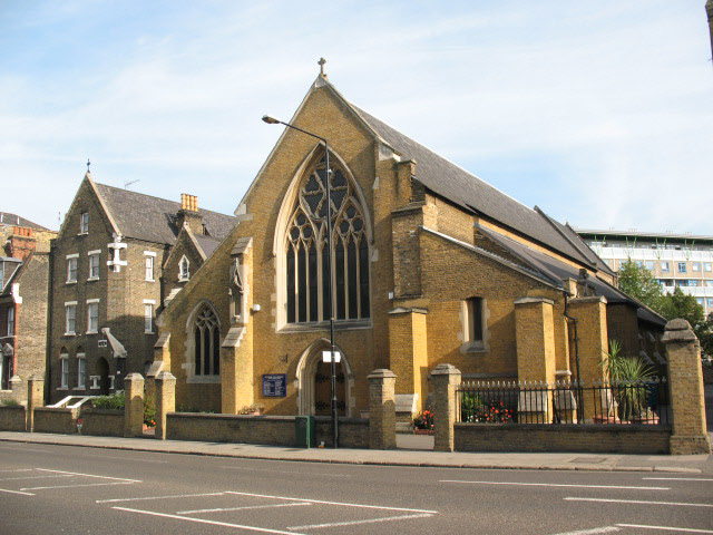 St Peter's church, Woolwich