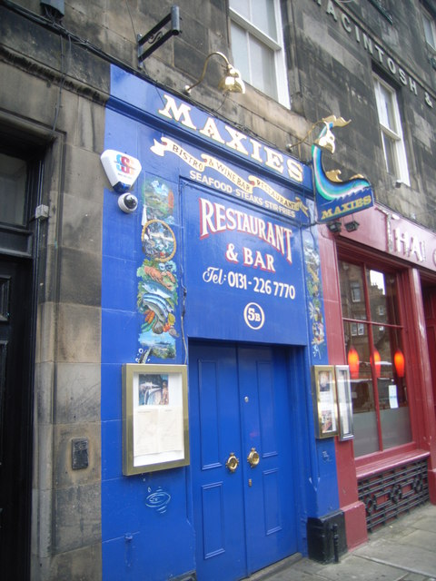 Maxies Restaurant, Edinburgh