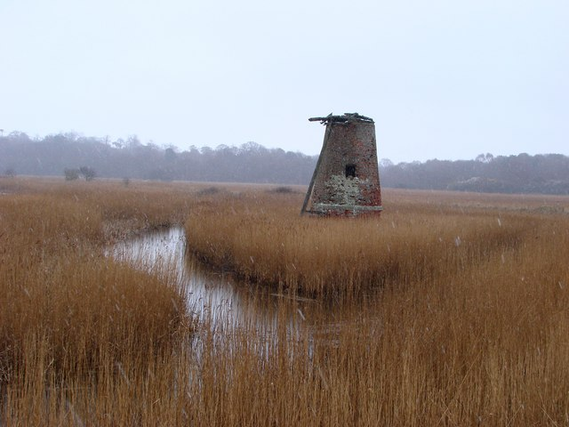 Dunwich marshes, Walberswick Mill