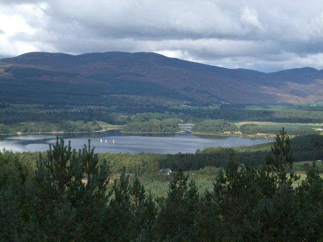 Loch Insh from Farleitter Crag