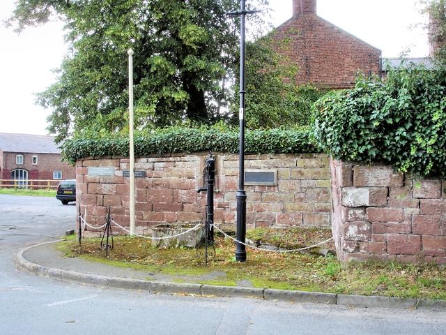 Saighton - village pump
