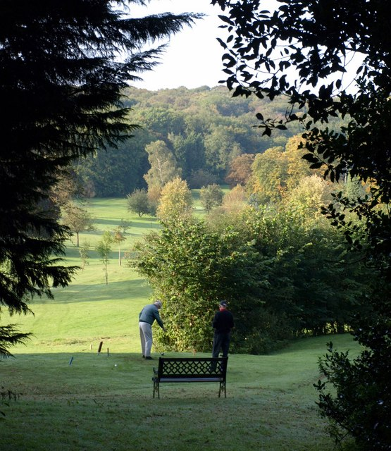 Golf course, Ullenwood