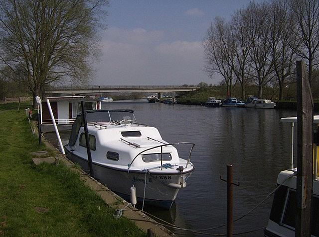 River Waveney at Beccles Quay