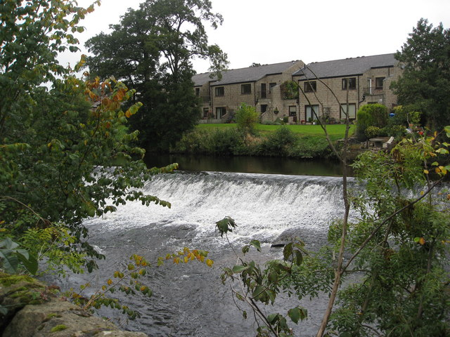 Bubnell - River Derwent and Weir