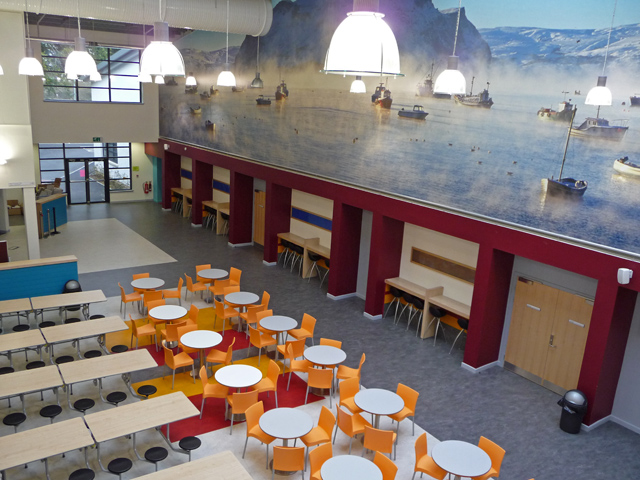 Portree High School Canteen 169 John Allan Geograph