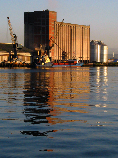 Morning at West Twin Wharf, Belfast