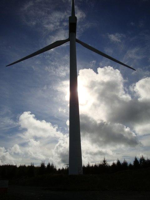 Wind Turbine Beinn an Tuirc