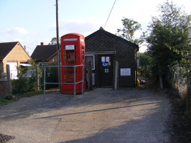 Rendham Telephone Exchange & Telephone Box