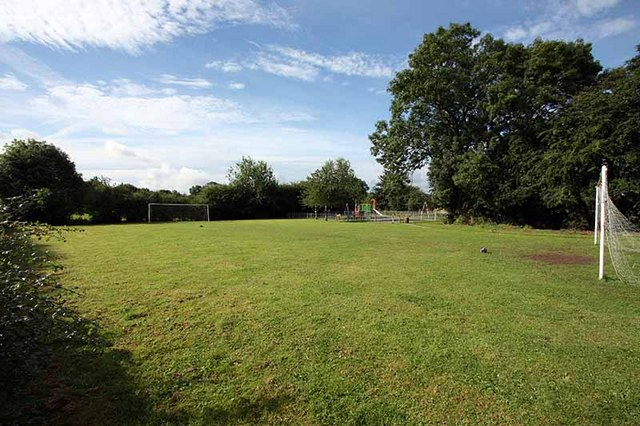 Football pitch, Staveley