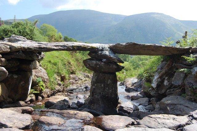 Small Clapper Bridge above Glen Inchiquin
