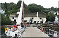 SW8137 : Mylor: mooring Wild Child by Martin Bodman