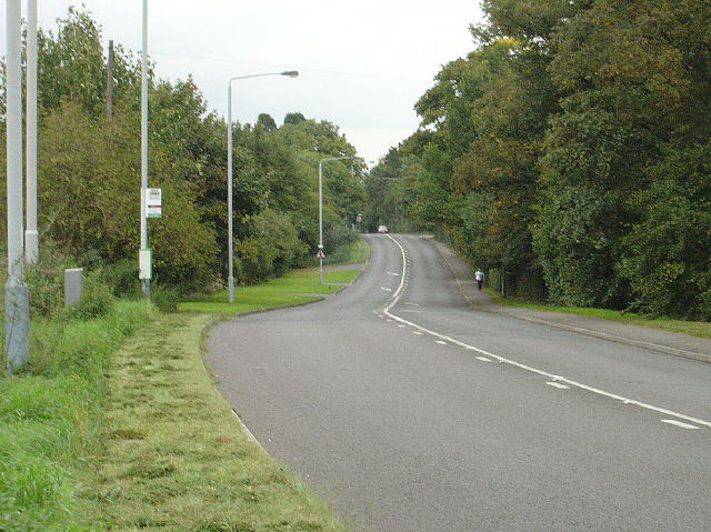 Melton Road near Edwalton