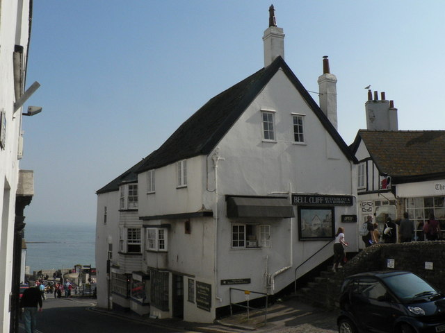Bell Cliff Restaurant And Tea Room Lyme Regis For Sale