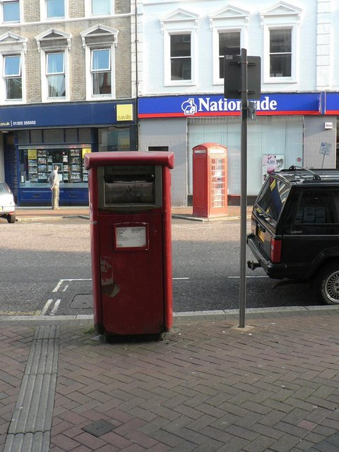 Bournemouth: postbox № BH1 503, Old Christchurch Road