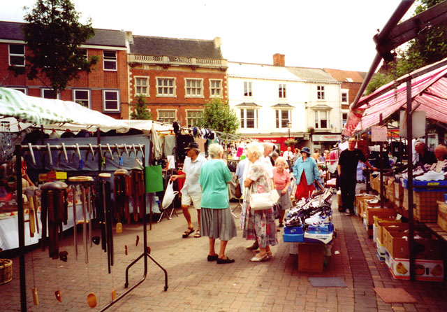 Market Day, Gainsborough.