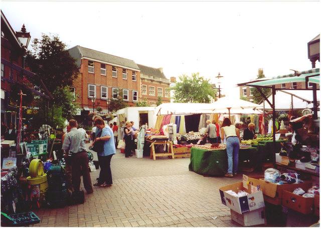Market Day, Gainsborough