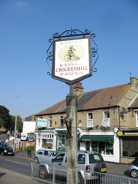 Crockenhill village sign