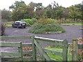NS8171 : Carpark on Easter Glentore Farm by John Lord