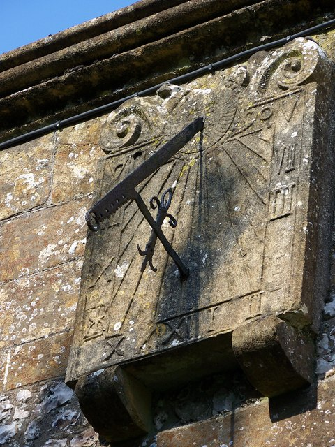 Sundial, All Saints Church, Hilton