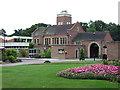 TQ4475 : Eltham Crematorium at Falconwood by Roger  Kidd