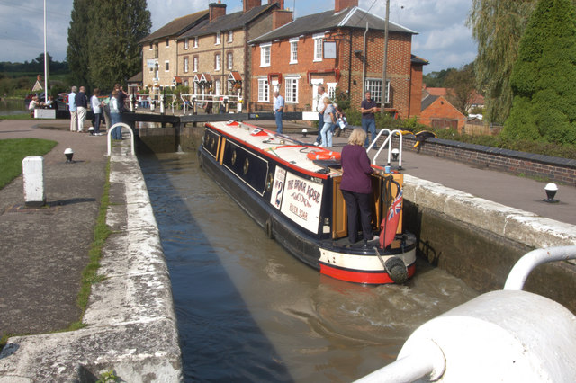 why was the canal built through stoke bruerne essay