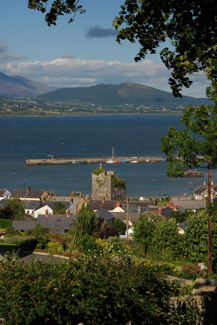 Taaffe's Castle and Carlingford Harbour