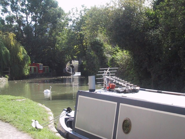 Pound below the Lock on the Kennet and Avon Canal
