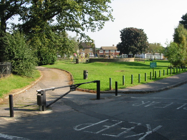 Playing field from Stone Cross Road