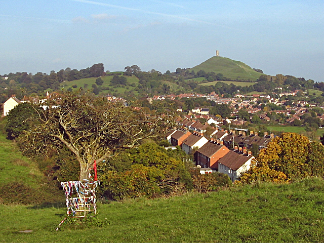 South Glastonbury from Wearyall Hill