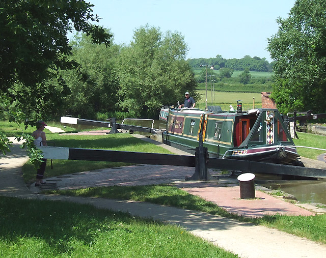 Hillmorton Locks, Rugby, Warwickshire