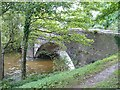 ST1688 : Bridge over the River Rhymney south of Bedwas by Robin Drayton