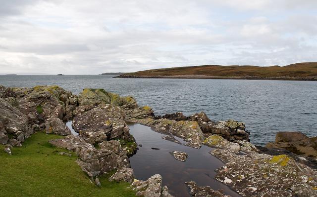 Coastline near Old Dornie Harbour