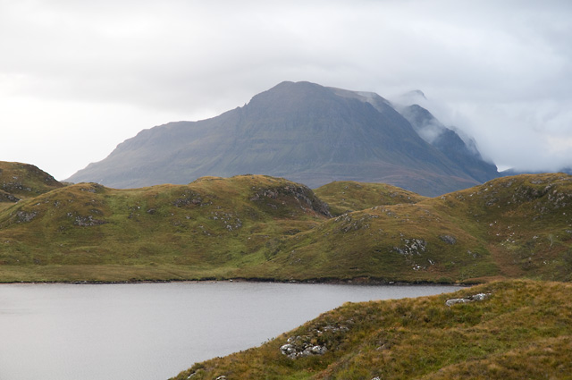 Loch Buine Móire with Cul Mòr Beyond