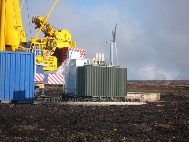 Transformer of Turbine No 5