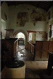 SP3220 : Interior of Shorthampton Church by Philip Halling