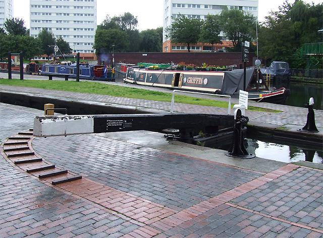 Farmer's Bridge Top Lock and Cambrian Wharf, Birmingham