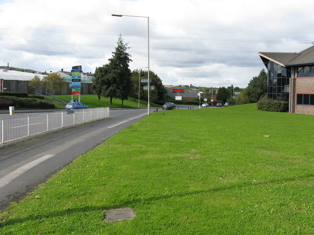 A457 leaving Oldbury