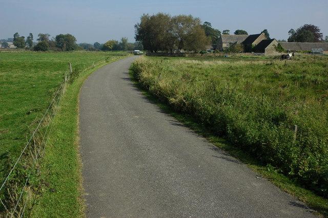 Drive to Ascott d'Oyley