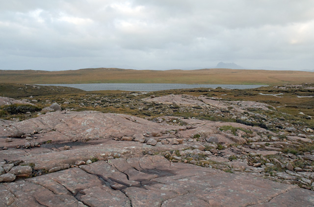 Rocky Outcrop on Rubha Mòr and Loch na Totaig