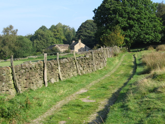 Grindleford - track near Rough Wood