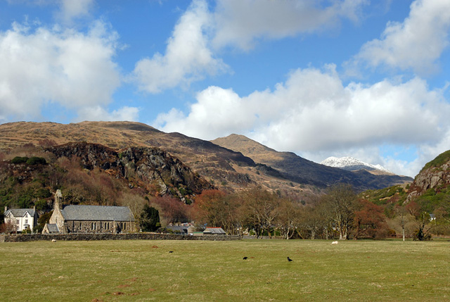 Beddgelert and Snowdon