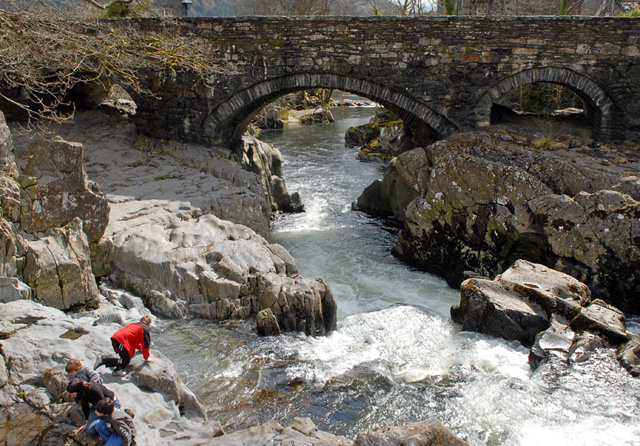 Betws-y-coed bridge