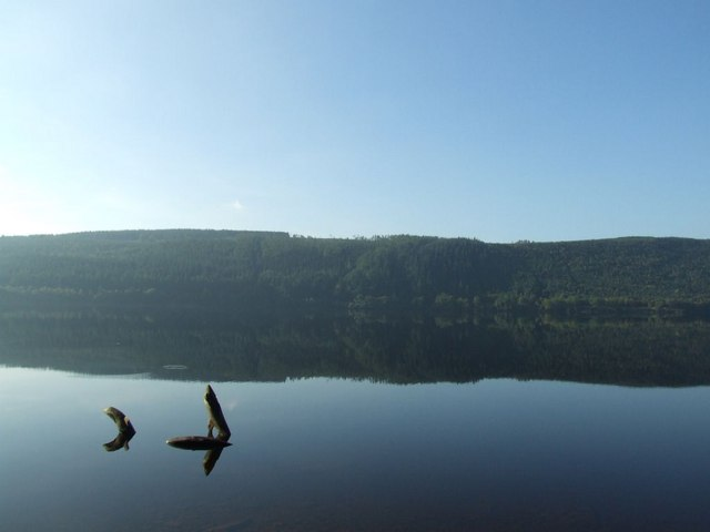 Reflections on Lake Vyrnwy