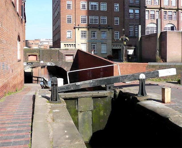Farmer's Bridge Locks No 11, Birmingham