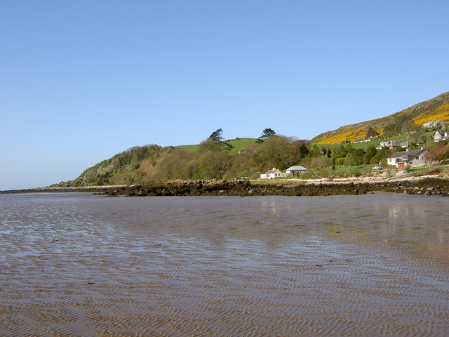 Looking back to Portling Bay from Sandyhills