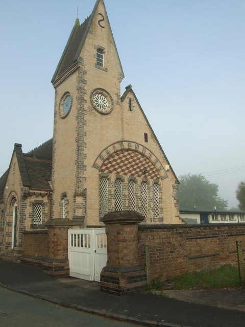 Beautiful brick work on the old school