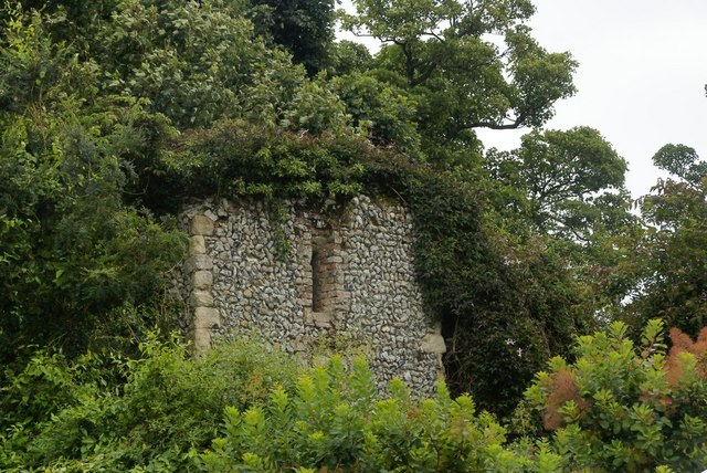 Ruins at Benington Lordship