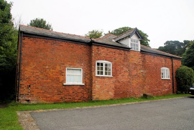 Old coach house, now a village hall
