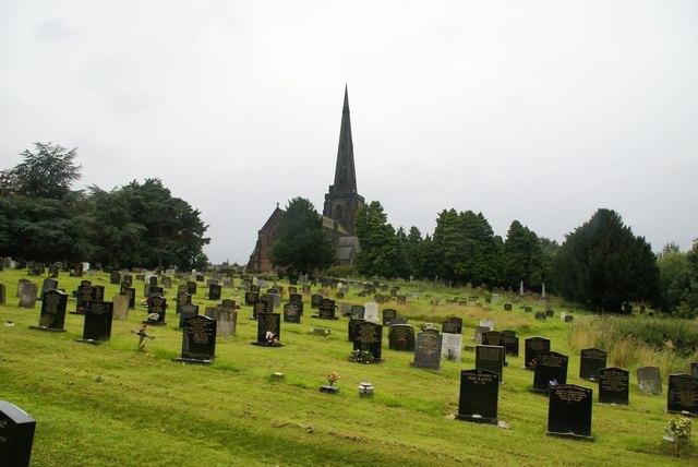 Saint Wilfred's Church graveyard